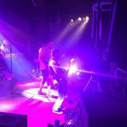 Die Coverband VOICE spielt auf dem Oktoberfest des KRB Wetterau